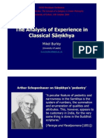Mikel Burley - The analysis of experience in classical samkhya