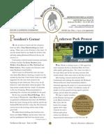 RHS Newsletter 02 2006