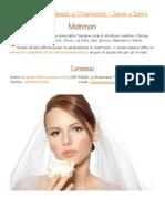 Acconciature per Matrimoni a Chianciano - Siena » Sam's