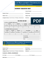 IMT Ghaziabad Assignment Submission form