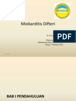miokarditis difteri