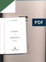 La Boite a Merveille (Oeuvre)