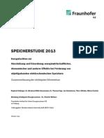 Fraunhofer energieopslag onderzoek