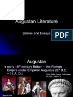 Augustan Literature. Satires and Essays