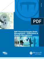 SAP FSCM Collection and Discupute management