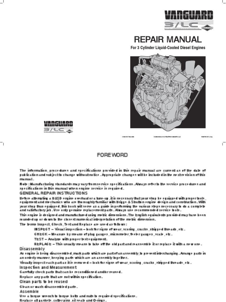 58a447service manual internal combustion engine fuel injection rh scribd com Daihatsu DM950D Manual Daihatsu DM950D Diesel Engine