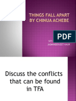 conflict in things fall apart