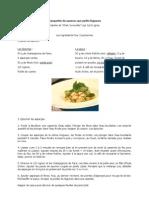 Blanquette de saumon aux petits légumes