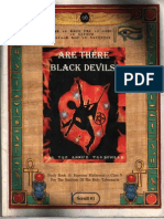 Are There Black Devils-Dr Malachi Z York