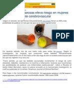 Artículos negativos Sobre Gaseosas en Diario el Comercio