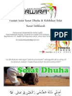 Solat Sunat Dhuha & Istikharah