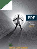 Mlcf Annual Report 2012