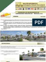Programa de Mejoramiento de Corredores Urbanos 1