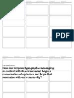Degree Project Process PDF layout