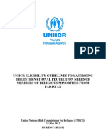 UNHCR Report on Minorities in Pakistan 2012