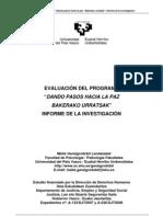 Evaluacion Programa Dando Pasos Hacia La Paz