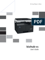 konica Minolta Bizhub 165 user guide