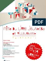 Fête du livre jeunesse de Villeurbanne - janvier 2013