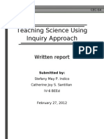 Teaching Science using Inquiry Approach