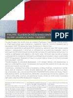 Lettre Architecte n21PPP Blandin-Philippe