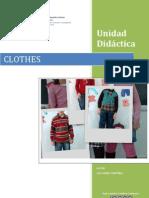 Unidad didáctica Clothes