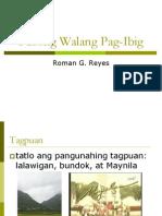 Ang Pusong Walang Pag-ibig
