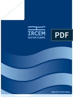 IRCEM TM10 submersible pump