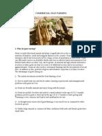 Goat farming document