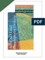 Manual AutoCad Land Development