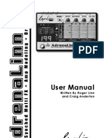 AdrenaLinn III Users Manual v302 5-14-08