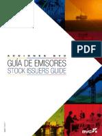 Guia de Emisores Acciones BVC-Stock Issuers Guide 2012