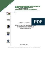 Bases de la economia agricola y gerencia de empresas agropecuarias