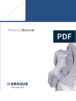 4abaqus Theory Manual