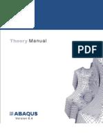 4abaqus Theory Manual