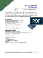 Giroscopio 3 Ejes 27911