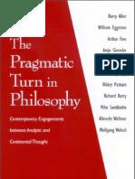 113221183 Egginton Sandbothe Pragmatic Turn in Philosophy