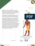 Amun the Egyptian God
