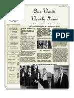 Newsletter volume 5 Issue 04