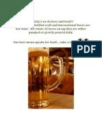 nicky beer menu