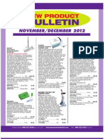 New Dental Products Bulletin
