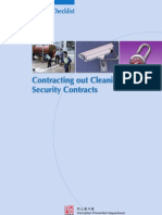 Cleaning and Security