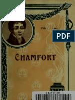 Chamfort autobiographie