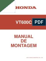 Honda VT600C - Manual de Montagem
