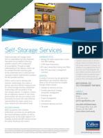 Self Storage Specialty Marketing Piece