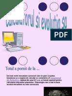 Evolutia Calculatorului