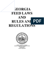 GA Commercial Feed Act