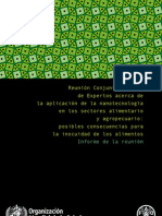 Nanoemulsiones FAO