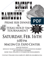 2013 Macon County Cattlemen's Banquet