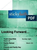 Lesson 1- The Not-So-Sticky Faith Reality (slides)