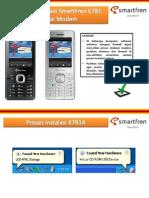 Setting Handset E781A X-Stream sebagai Modem